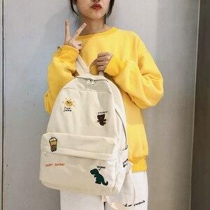 Nowy projekt kobieta plecak moda kobiety plecak College School School Bag Harajuku torby podróżne na ramię dla nastoletnich dziewcząt