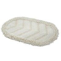 Algodão sólido chenille absorvente tapetes da porta do assoalho área oval tapete de assento pequeno tapete cozinha banheiro capacho decoração para casa suprimentos Tapete     -