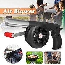 ABFU-открытый Приготовление барбекю Вентилятор воздуходувка для барбекю пожарные сильфоны ручной инструмент для пикника Кемпинг Плита аксессуары