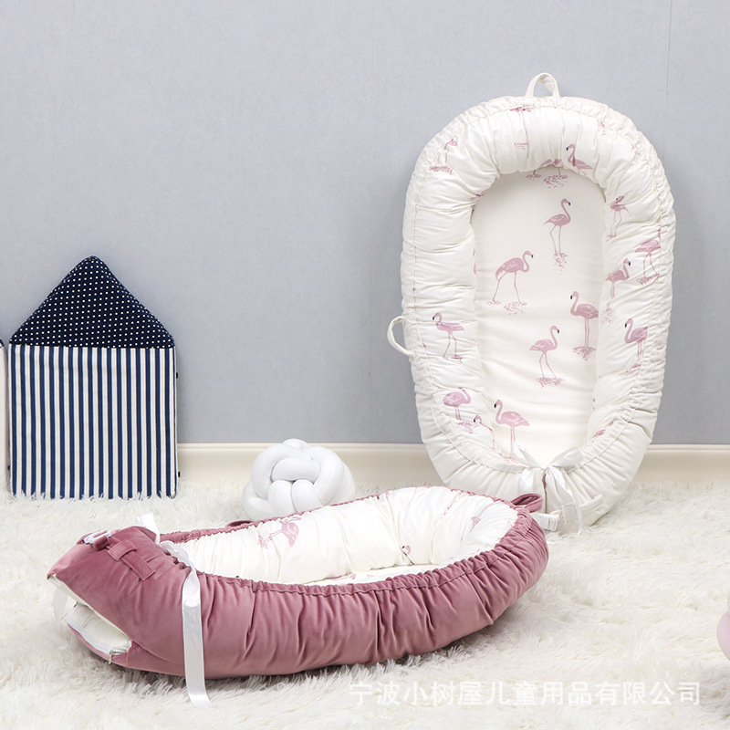 Baby Bed American Bionic Uterine All-cotton Fall-proof Four Seasons Universal