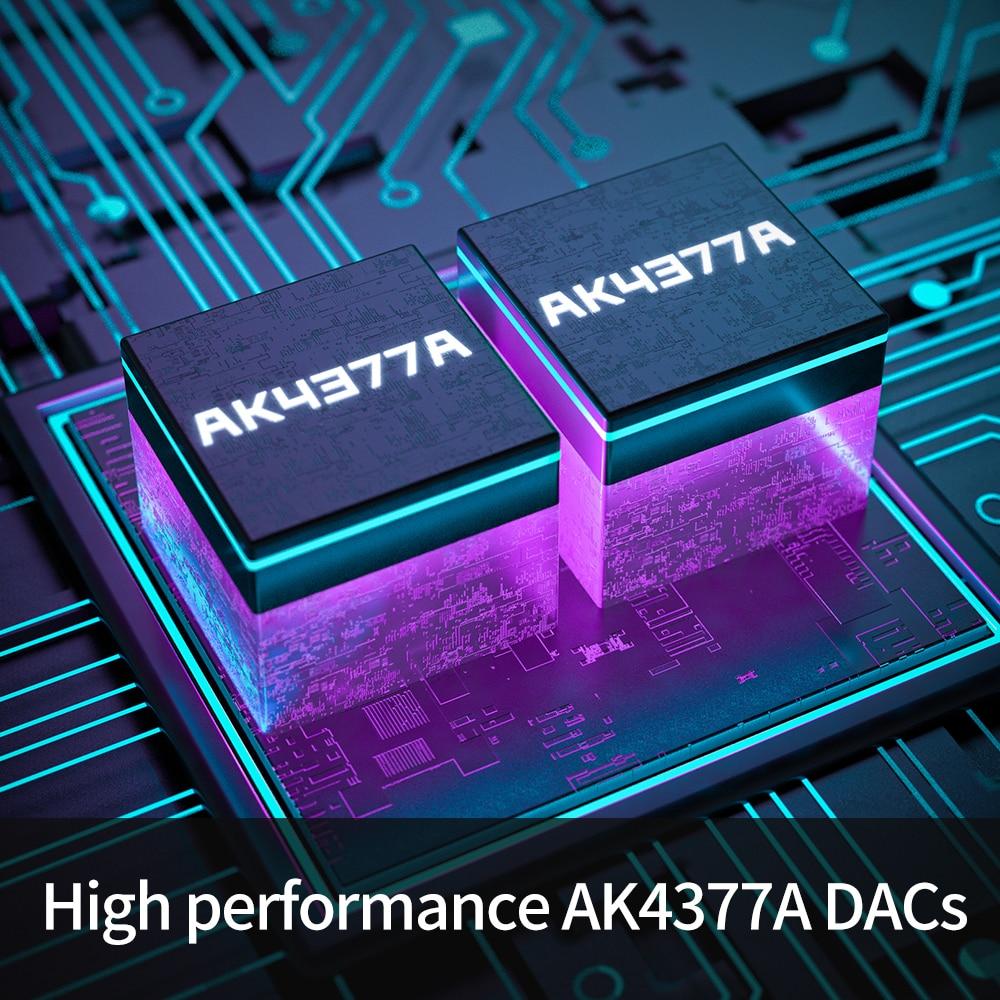 Fiio BTR3K AK4377A *2 Balanced Bluetooth 5.0 Amp USB DAC,support LDAC/aptX HD lossless HiFi Codecs,Hands-free Calling,2.5/3.5mm 4