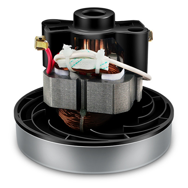Ev Aletleri'ten Elektrikli Süpürge parçaları'de 220 V 240 V 800W evrensel elektrikli süpürge Motor parçaları 107mm çapı ev tipi elektrikli süpürge Midea için QW12T 05A QW12T 05E Mot title=