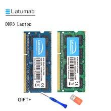 Latumab 4GB 8GB 16GB DDR3 1066mhz 1600MHZ PC3 8500 Laptop Memory SoDimm Memory Ram 204 Pins High Quality Notebook Module SODIMM цена 2017