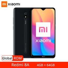 Rom global xiaomi redmi 8a 8 a 4gb 64gb smartphone snapdargon 439 octa núcleo 6.22