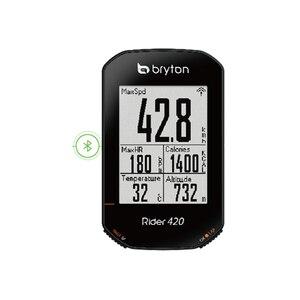 Image 4 - 2020 חדש Bryton רוכב R420 אלחוטי GPS GNSS / ANT + Bluetooth מהירות מקצב לב שיעור כוח אופני אופניים רכיבה על אופניים מחשב