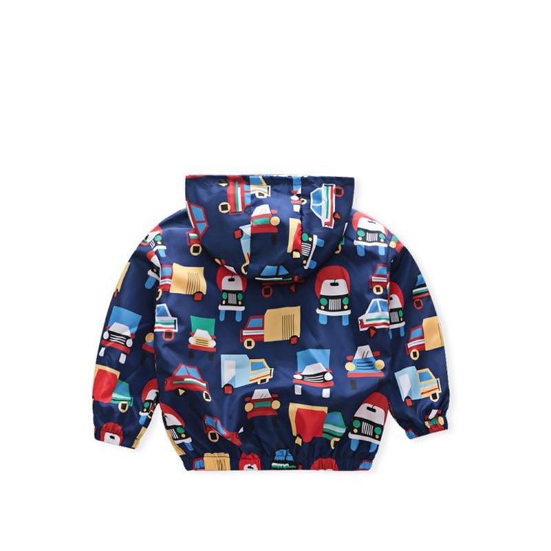 CROAL CHERIE  Fall Outerwear Coats Boys Kids Girls Jacket Cute Dinosaur Children Clothing Casual Baby Spring Jacket 80-130cm (9)