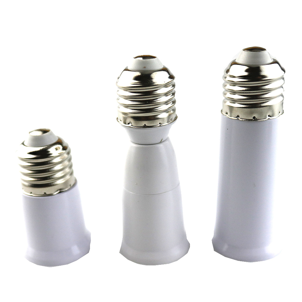 (5 pieces/lot) Converter Lampholder Extend Extension E27 to E27 <font><b>E14</b></font> GU10 G9 LED Light Bulb <font><b>Lamp</b></font> Base Holder Screw <font><b>Socket</b></font> Adapter image