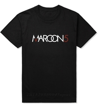 2020 new L.A Rock band MAROON 5 O-neck sleeve top quality cotton brand Mens t shirt,fashion style Mens Maroon 5 t shirt.