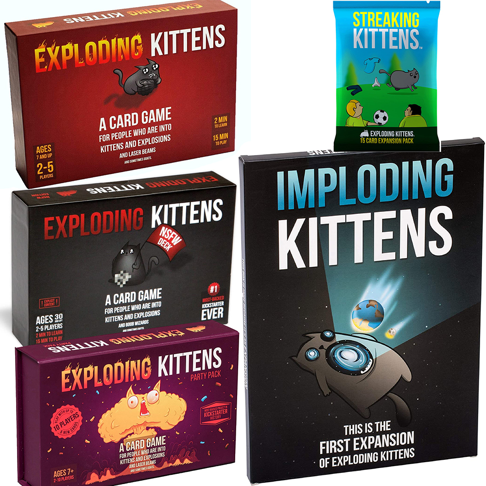 Adult Board Games NSFW Edition Kitten Original Edition Family Party Strategy Explode Fun Cards Game Child Toy