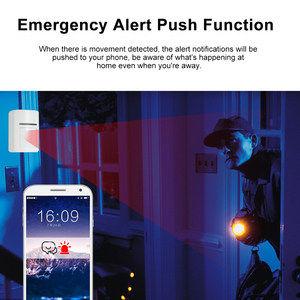 Image 5 - חכם Wifi אינפרא אדום חיישן תנועת גלאי PIR מתג אלחוטי PIR מערכת אזעקה לבית אבטחה נגד גניבה תמיכה APP TUYA