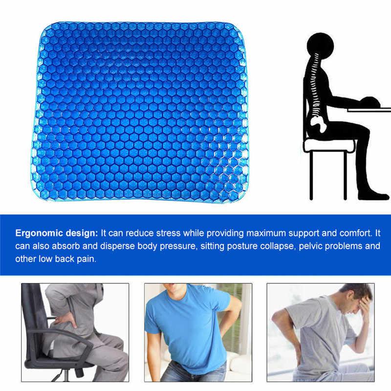 快適整形外科座椅子クッションゲルシートクッションノンスリップホームオフィスカーシートクッション圧力リリーフ