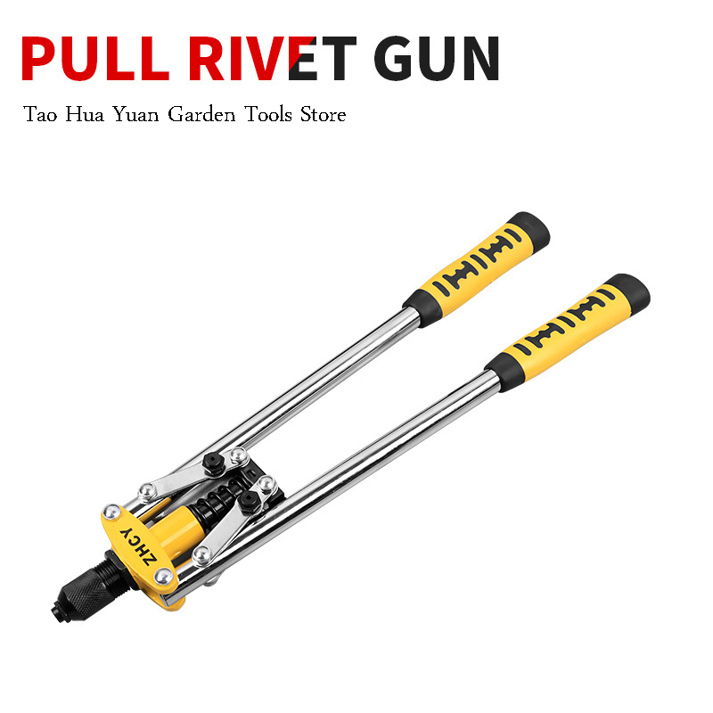 Manual Adjustable Blind Rivet Guns Hand Riveters Industrial Hand Riveters Nuts Insert Home Riveting Auto Tool Renovation Tao HY0