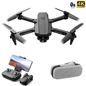 Najlepszy Mini Drone XT6 4K 1080P kamera HD WiFi Fpv ciśnienie powietrza wysokość trzymać składany Quadcopter RC Drone zabawka dziecięca na prezent tanie i dobre opinie SMRC Z żywicy Z włókna węglowego Z tworzywa sztucznego Drewna Z włókna szklanego Metal CN (pochodzenie) Gotowa do działania