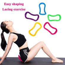 Yoga Pilates Ring Circle Stretch Gym Fitness Training Equipment Fascia Massage Workout Accessories