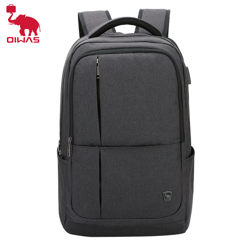 OIWAS 17 Inch Laptop Backpack With USB Charging Bags Backpack Large Capacity Business Daypack Bookbag For Men Women Teens