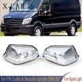 X-CAR передний указатель поворота бокового зеркала светильник лампа мигалка для VW Crafter Mercedes Sprinter 2006 2007 2008 2009 2010-2017 0018229020