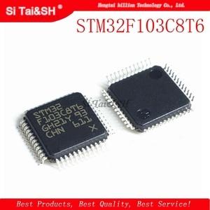 1 шт. STM32F103C8T6 STM32F103RFT6 STM32F103RGT6 STM32F105RBT6 STM32F105RCT6 STM32F103CBT6 QFP Новый и оригинальный IC