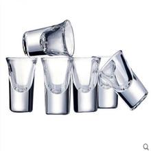 Бытовые стеклянные бокалы для вина 6-20 мл