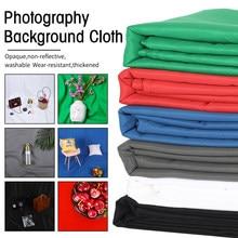 Fond d'arrière-plan pour Studio Photo, toile de fond en tissu vert, touche Chroma pour prise de vue, Projection en mousseline