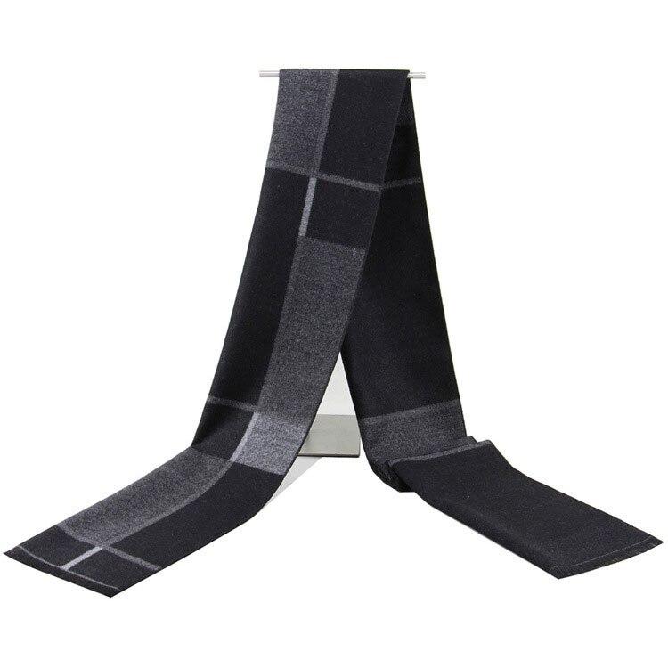 Business Design Casual Warm Scarves Men Cashmere Scarf Luxury High Quality Warm Neckercheif Winter Scarves Men Cotton Wraps Male