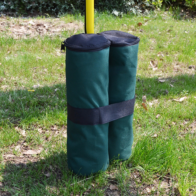 1Pcs Outdoor Camping Tent Sand Bag Canopy Weights SandBag 6000D Oxford Windproof Fixing Sandbag Tents Leggings