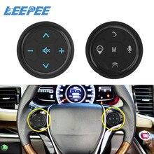 Universal música gps navegação rádio botões de controle remoto sem fio carro volante controlador 10 chaves acessórios do carro