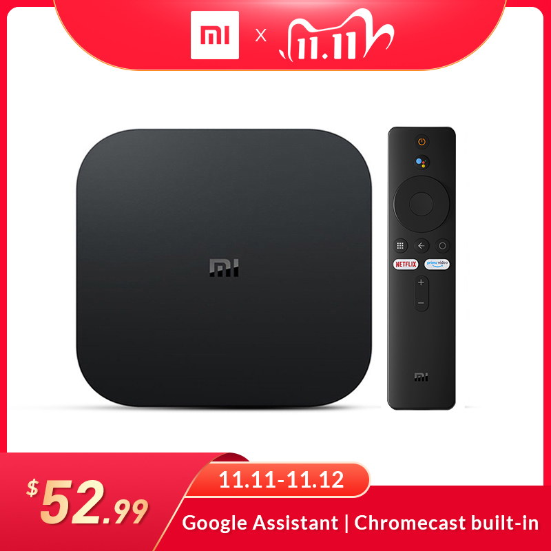 Global Version Xiaomi Mi TV Box S Android 9.0 2GB RAM 8GB ROM Smart TV Set top Box 4K QuadCore HDMI WiFi Mali 450 1000Mbp Player|Set-top Boxes| - AliExpress