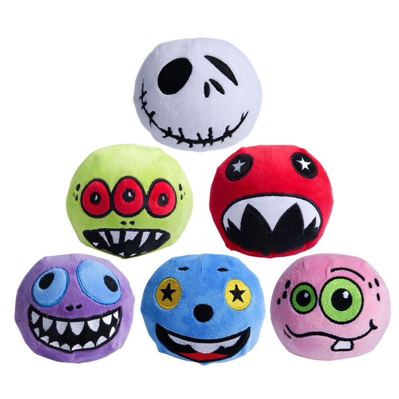 Funny Cute Squishies Skuishy Halloween Plush Toys Embroidery Monster Kids Squeezable Slow Rising Dolls Plush Toys