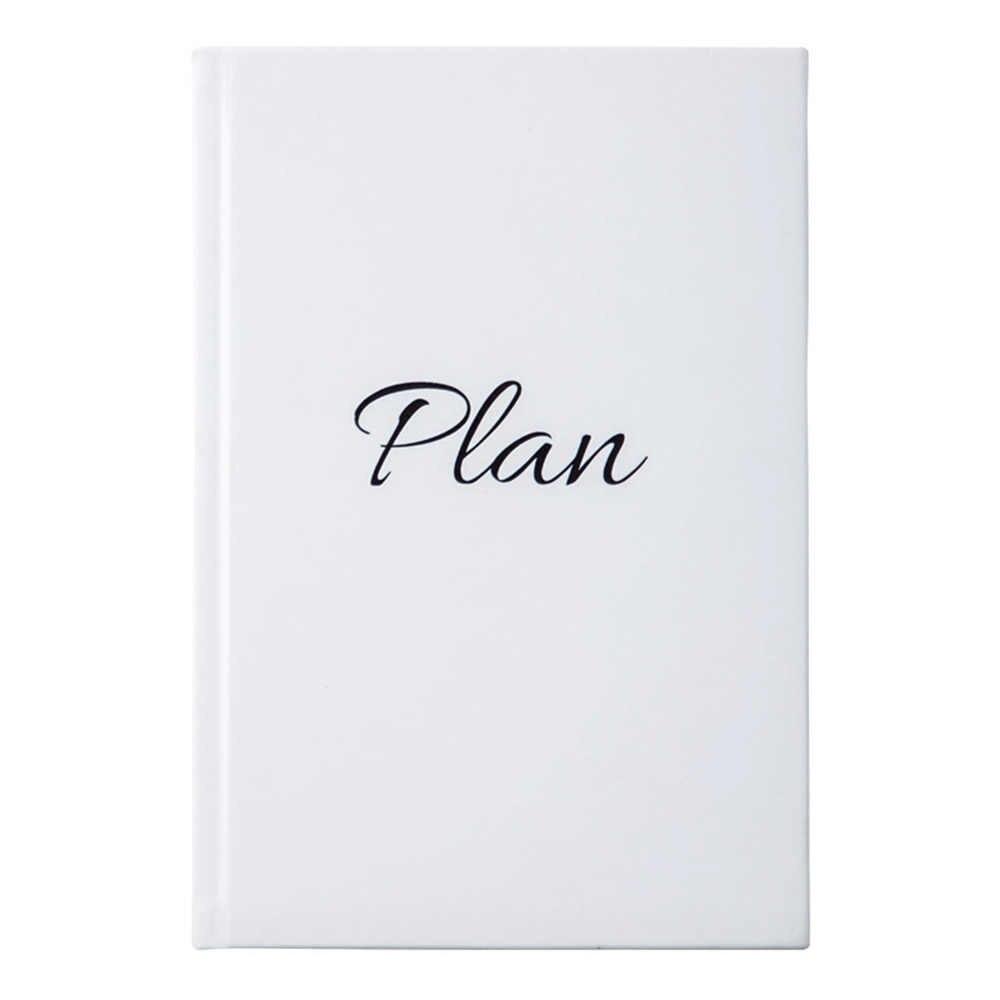 Luxo Agenda 2020 Notebook Organizador Planejador Diário Semanal A5 e Revistas de Negócios Mensal Pessoal de Viagem Nota Livro sketchbook