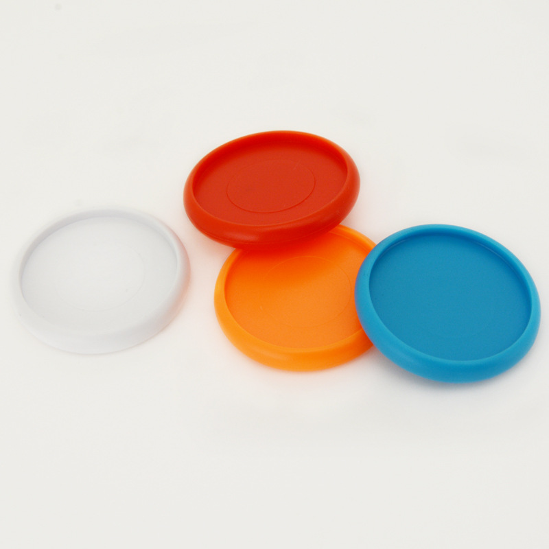 18mm 12pcs Holds 50 Sheets Of Paper Solid Color Plastic Buckle Mushroom Hole Loose-leaf Notebook Binding Ring Buckle