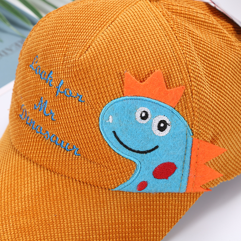 H83142e482ecf4bd1bd6822e88e3ca4fdN - Spring Autumn Baby Baseball Cap Cartoon Dinosaur Baby Boys Caps Fashion Toddler Infant Hat Children Kids Baseball Cap