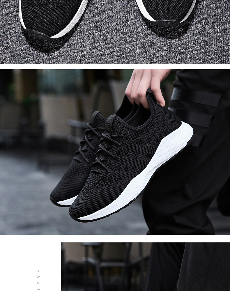H8314531fad5247ea9918c2063829b157a - Men Casual Shoes Men Sneakers Brand Men Shoes Loafers Slip On Male Mesh Flats Big Size Breathable Spring Autumn Winter Xammep