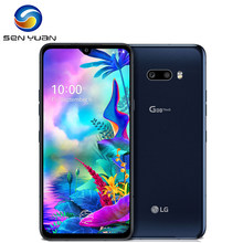 LG-teléfono inteligente G8X ThinQ G850UM, 128G, Original, libre, LTE, Android, ocho núcleos, 6,4 pulgadas, 6GB, 32MP y 12MP, reconocimiento de huella dactilar, NFC
