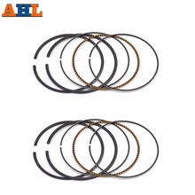 AHL 2 Sets Motorcycle Part Bore Size 65mm Motorcycle Standard Piston Ring For SUZUKI VZ400 VZ 400 1997 1998 1999 2000 2001