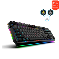 Motospeed CK80 Mechanical Keyboard With outemu RGB Backlight USB Cable PBT Key Cap Double Shadow Backlight