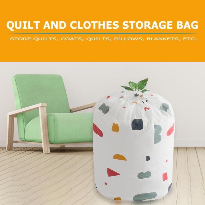 Складной на шнурке сумка для хранения одежды лоскутные одеяла шкаф постельные принадлежности Пылезащитный Водонепроницаемый вещевой мешок Move Organizer