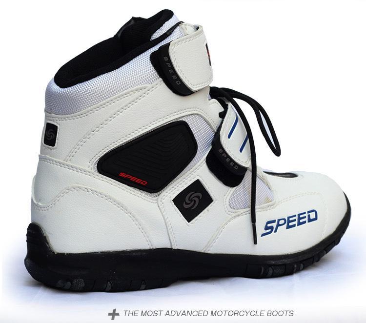 HiMISS miękkie buty motocyklowe Biker wodoodporne prędkości motorówki męskie buty motocrossowe antypoślizgowe buty motocyklowe