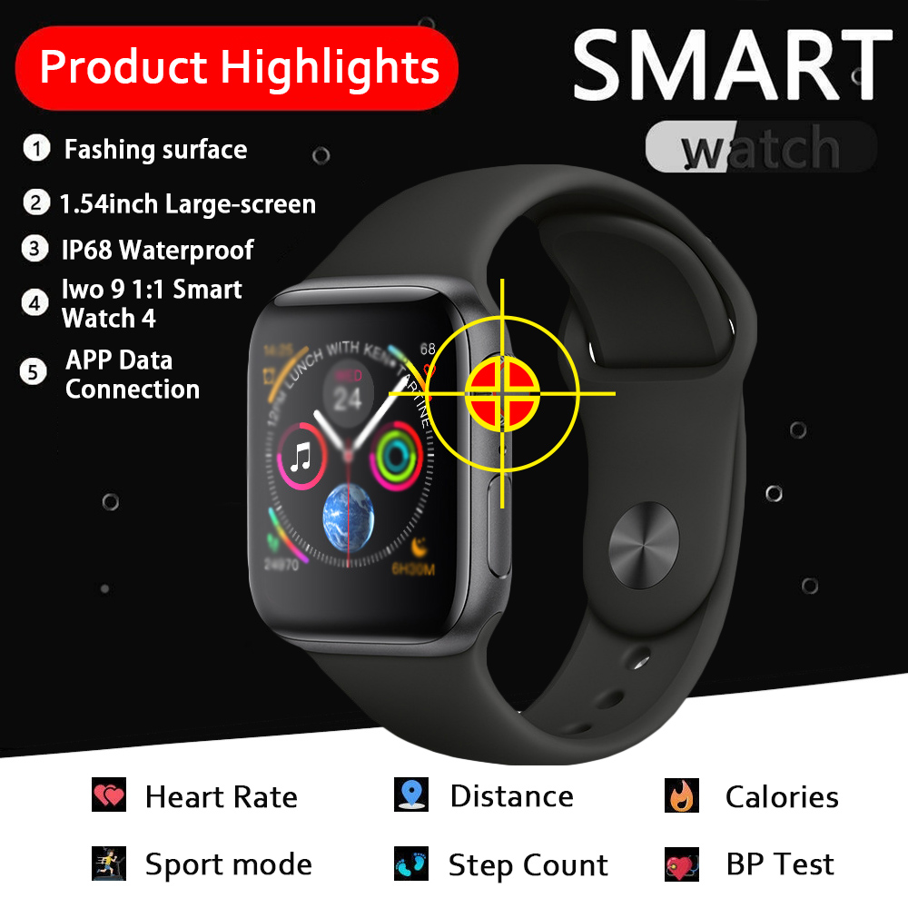 SKHO <font><b>Iwo</b></font> 8 Plus/ecg Ppg <font><b>Smart</b></font> <font><b>Watch</b></font> Men Heart Rate <font><b>Iwo</b></font> 9 Smartwatch <font><b>Iwo</b></font> 8 /<font><b>iwo</b></font> 10 <font><b>Smart</b></font> <font><b>Watch</b></font> for Women/men 2019 for Apple IOS image