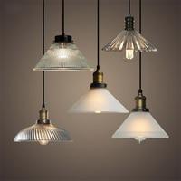 Vintage Led Pendant Lights Loft E27 Glass Hanging Lamp for Bar Industrial Decor Kitchen Home Light Fixtures Suspension Luminaire