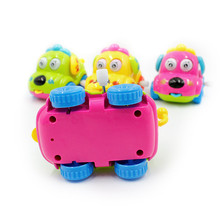 Childrens Toys Cartoon Tongue Out Car Q Version Clockwork Puppy Attract Baby Attention Classic