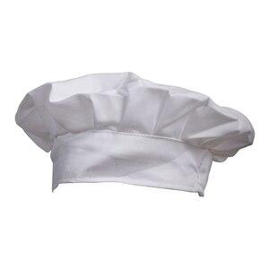Elegante vestido fiesta panadero cocinar barbacoa cocina Gorro de cocinero blanco