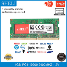 SHELI 4GB PC4-19200 DDR4 2400MHZ 260 Pin Laptop M