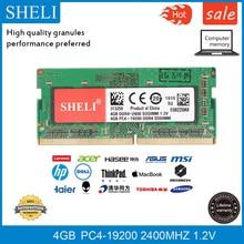 SHELI 4GB  PC4-19200 DDR4 2400MHZ 260 Pin Laptop Memory NON ECC RAM