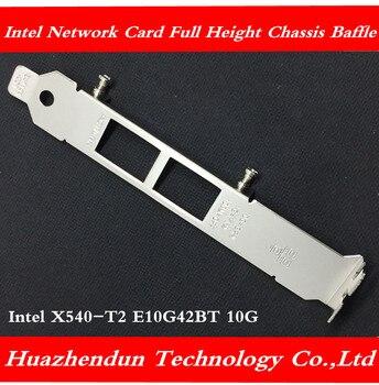 Intel Intel X540-T2 E10G42BT 10G Network Card Full Height Chassis Bezel Full Height Bracket 100pcs Free shipping