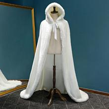 Elegant White Shaggy Plush Faux Party Fur Coat Autumn Winter Warm Coat 2019 hot sale Female Plus Size Women Overcoat