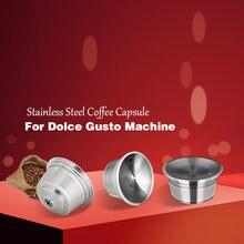 Многоразовые капсулы для кофе dolce gusto из нержавеющей стали