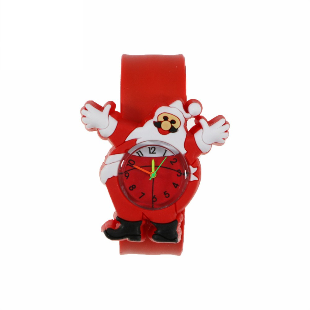 Christmas Patting Circle Papai Watch Noel Enfeite De Natal  Christmas Children Gift New Year Party Toy Santa Claus Snowman