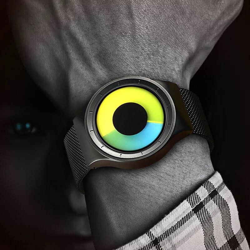 Relogio Masculino Kreative Quarz Uhren Männer Top Luxus Marke Mode edelstahl Unisex Uhr Uhr männlich-weibliche Gentleman