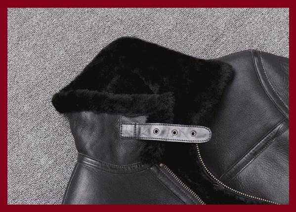 H831608f332954ac0b2df0cd24451a02ai Free shipping,Sales Winter Sheep fur coat,100% wool Shearling jacket,warm leather sheepskin coat.plus size classic motor style