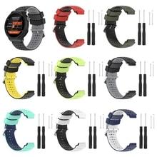 Multi color For Garmin Forerunner 235 WatchBand Silicone Strap Bracelet For Garmin Forerunner 220/230/620/630/735XT